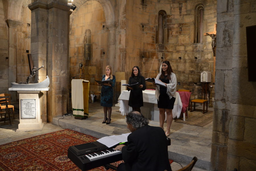 Gaulitanus Choir Director & Soloists return from Corsica Festival