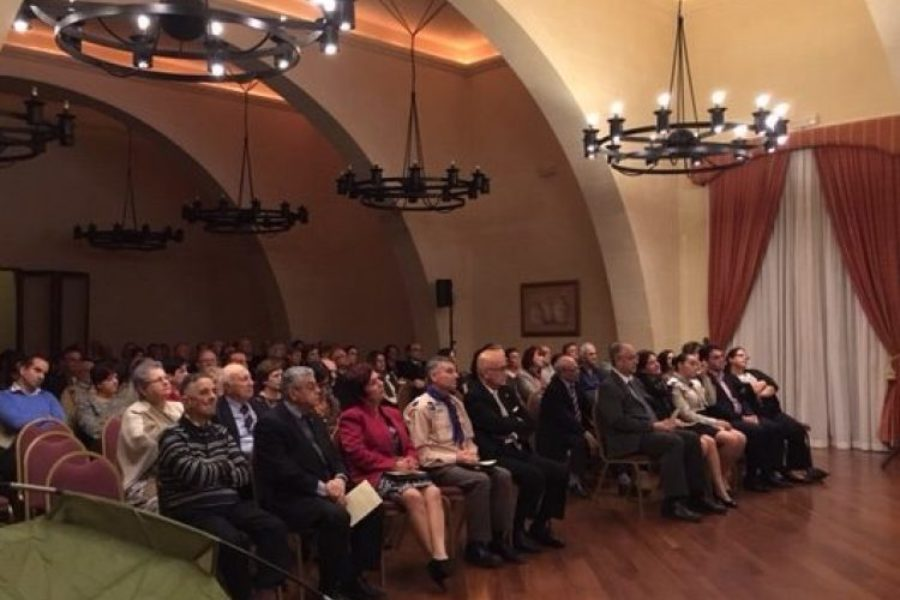 Gaulitanus Choir sings for Gozo Scouts' centenary