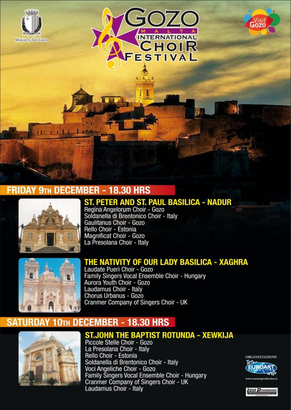 Gaulitanus Choir in the Gozo International Choir Festival