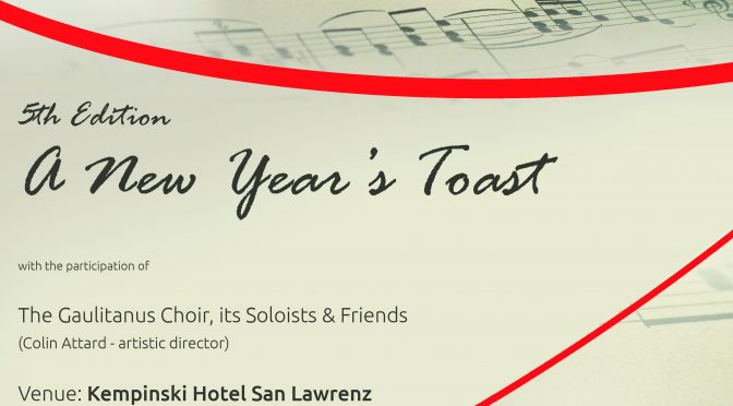 A NEW YEAR'S TOAST