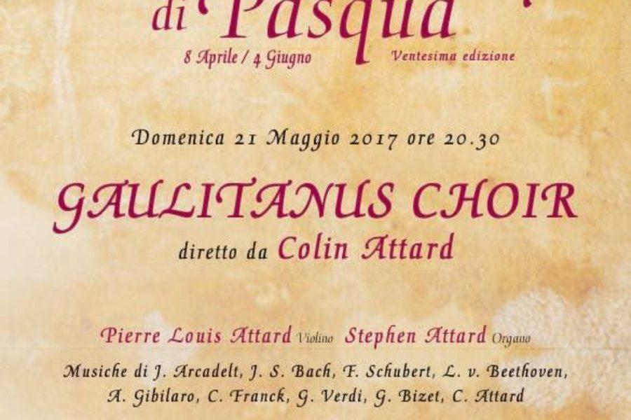 Gaulitanus Choir in Rome