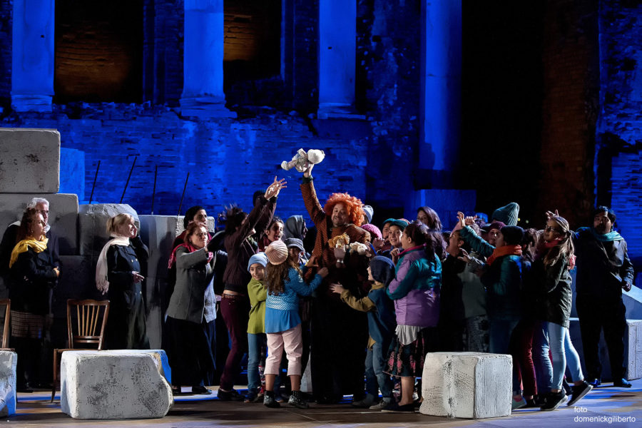 Gaulitanus Choir makes history in Taormina opera