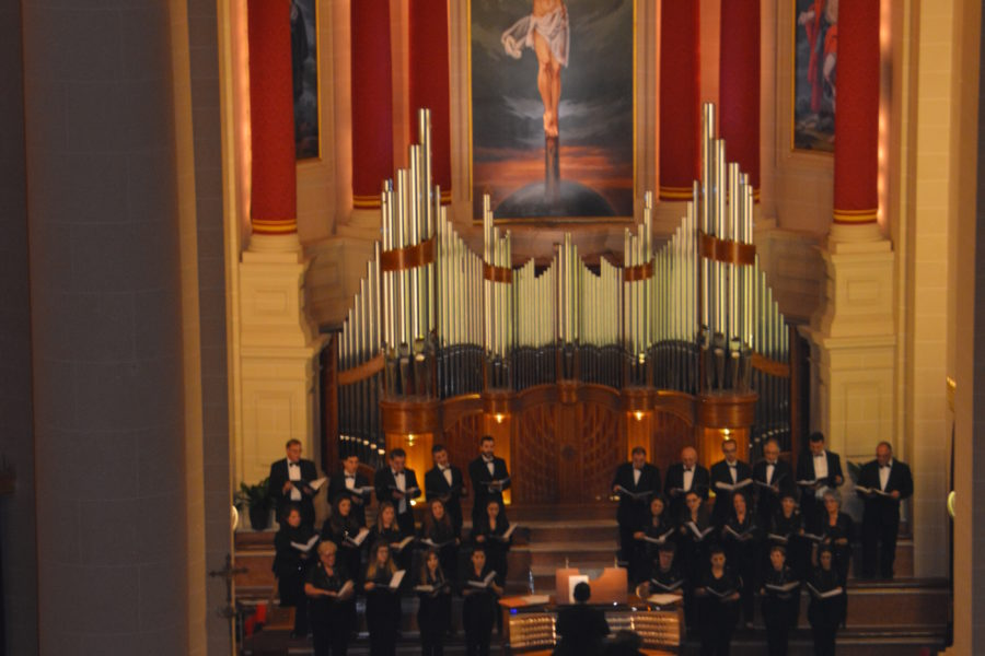 The Gaulitanus Choir performs at the Malta International Organ Festival