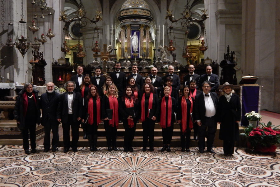 Gaulitanus Choir returns from Lombardia (Italy) concert-tour